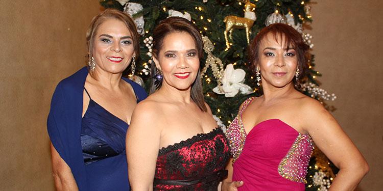 Karla Barahona, Odeth Banegas, Reyna Colindres.