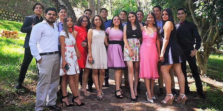 Integrantes de la promoción 2020 de Valencia School.