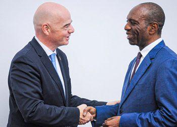El presidente de la FIFA, Gianni Infantino, busca la creación de una liga africana.