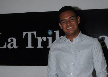 Marcos Antonio Ríos Contreras visitó LA TRIBUNA antes de viajar a Estados Unidos, a la Universidad de Harvard, donde actualmente estudia Matemática Aplicada.