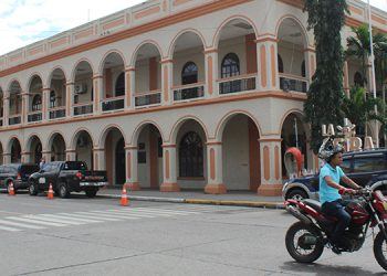 Palacio Municipal de La Ceiba, cabecera departamental de Atlántida. Foto: Josué Quintana G.