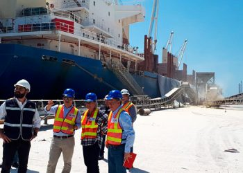 Según la auditoría de Cost, en la terminal de Graneles Sólidos de Puerto Cortés se realizaron varias modificaciones que generaron un gasto de 11 millones de lempiras.
