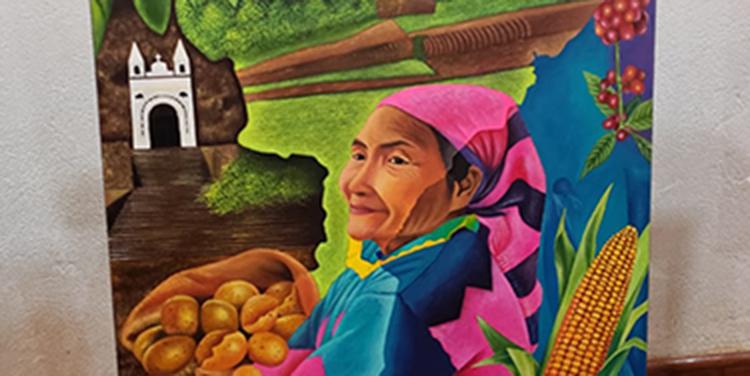 Impulsan exposición de pinturas con matiz agrícola en Intibucá, Honduras - La Tribuna.hn