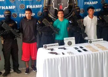 Los detenidos serán procesados por la comisión de los delitos de extorsión y sicariato.