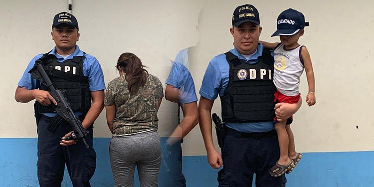 Durante la operación se detuvo a Karen Joselyn Reyes Barrero (27), tía de la víctima y principal sospechosa del secuestro.