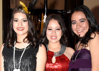 Eyleen Matamoros, Brissia Castellanos, Nora Fonseca.