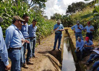 Alumnos de la Universidad Nacional de Agrícultura (UNA) en Catacamas, Olancho.