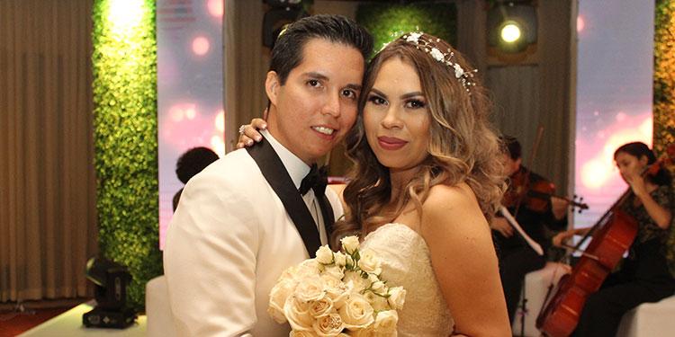 Carlos Coello y Cindy Maradiaga llegan al altar - La Tribuna.hn