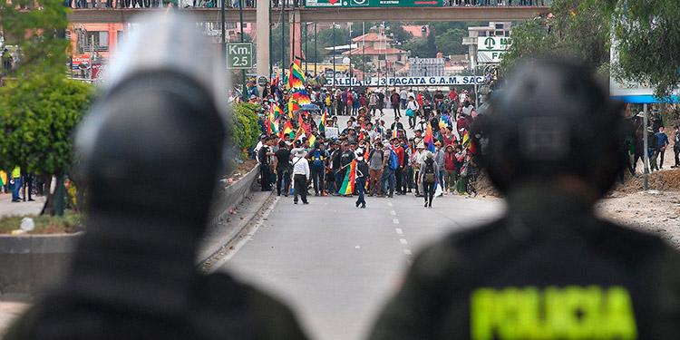 """Morales dijo tener """"mucho miedo"""" a que estalle una guerra civil en Bolivia"""