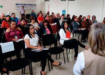 Los participantes se mostraron interesados en la labor que realiza el programa Ciudad Mujer desde 2016.