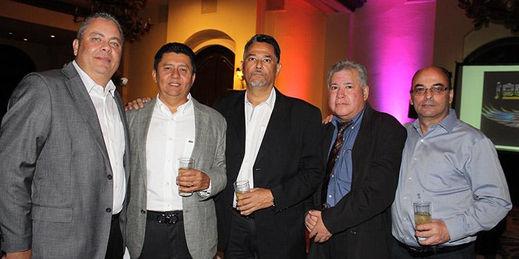 Gustavo Moncada, Juan Avelar, Mario Zepeda, Mario Reyes, Roberto Canahuati.