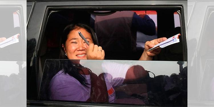 Salaverry dice que no cumplió encargo de contactar a Chávarry — Keiko Fujimori