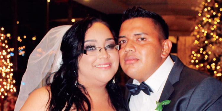 Anna y José llegaron al altar después de dos años de noviazgo.