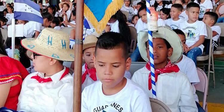 Un evento de clausura similar fue realizado en la Plaza de Héroes de la 105 Brigada en San Pedro Sula.