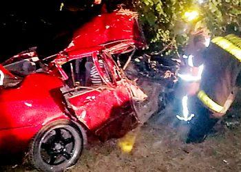 Josué Espinal perdió la vida en un accidente registrado en Villanueva, tras el impacto con un camión repartidor de agua.