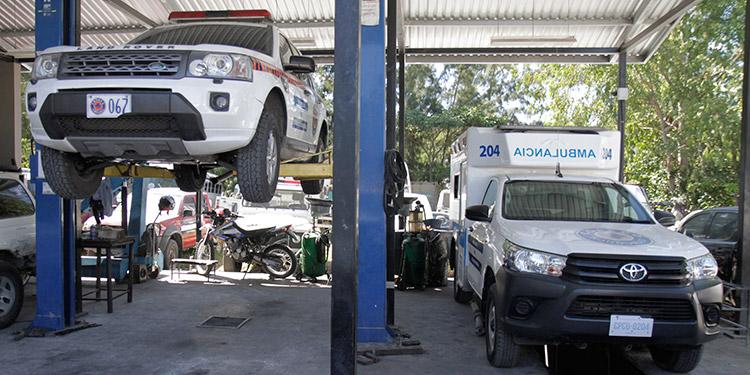 Las ambulancias de Copeco han sido adquisiciones por parte del Estado hondureño.
