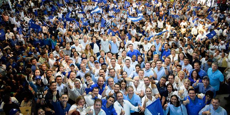 """Autoridades, dirigentes y bases nacionalistas convergieron en la Convención """"Celín Discua"""", celebrada en Danlí, El Paraíso."""