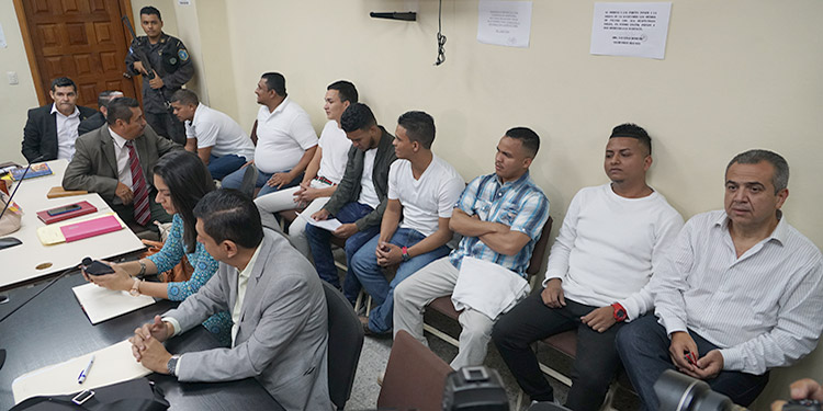 Los encausados fueron encontrados culpables por parte del Tribunal el pasado 29 de noviembre del 2018.