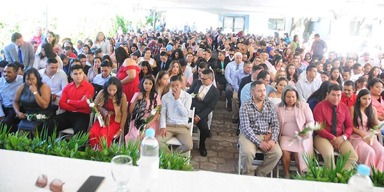 Las bodas gratis se realizan desde el año 2014, para fortalecer la unión familiar a través de los lazos del matrimonio.