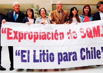 Chile es un país que posee reservas de litio, especialmente, en el salar de Atacama al norte del país, cerca de Bolivia.