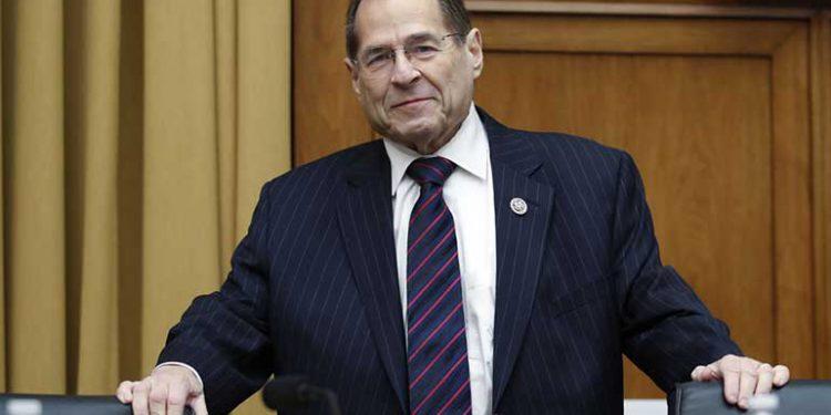 Jerrold Nadler presidente del comité jurídico de la cámara de representantes del congreso de EEUU.