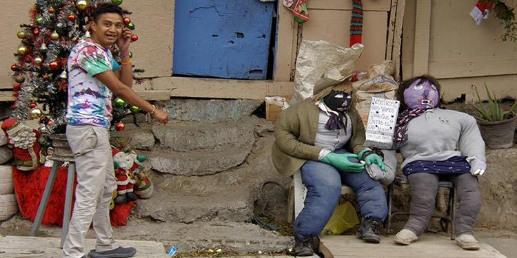 Las fiestas de fin de año concluyen la mayor parte del tiempo con las tradicionales quemas.