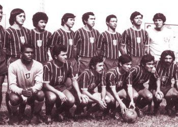 Los Pumas que iniciaron su peregrinar en Liga Nacional en 1972 con el recordado dirigente Juan Ramón Núñez.