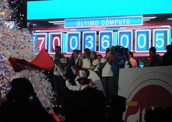 Gracias a los hondureños solidarios se sobrepasó la meta de la Fundación Teletón para este 2019, al recaudarse más de 70 millones de lempiras.