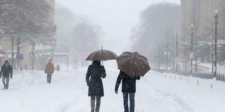 Las tormentas invernales en EEUU han sido severas.