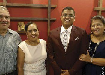 Jorge Ordóñez, Daysi Mendoza, José  Daniel Avila, Alma Victoria Castro.