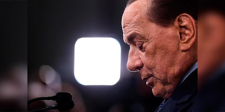 Berlusconi presenta mejoría de su neumonía bilateral por el coronavirus