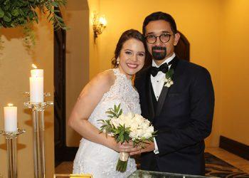 Martín y Corazón de María partieron a México para disfrutar su luna de miel.
