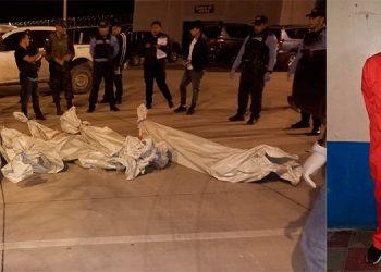 """Por la inseguridad al interior de """"La Tolva"""", los fiscales y peritos forenses decidieron realizar el levantamiento en el estacionamiento del centro penitenciario."""