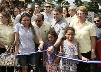 El nuevo parque está dentro el CRILA, donde la mayoría de pacientes tienen alguna discapacidad.