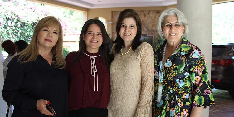 Mariana Montero, Nabila Facussé, Carol Facussé, Soad Facussé.