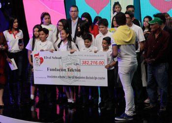Con éxito inicia una vez más la gran jornada de amor Teletón 2019, en el Instituto Salesiano San Miguel.