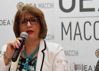 Hasta el 1 de febrero, Ana María Calderón, será la vocera interina de la MACCIH.