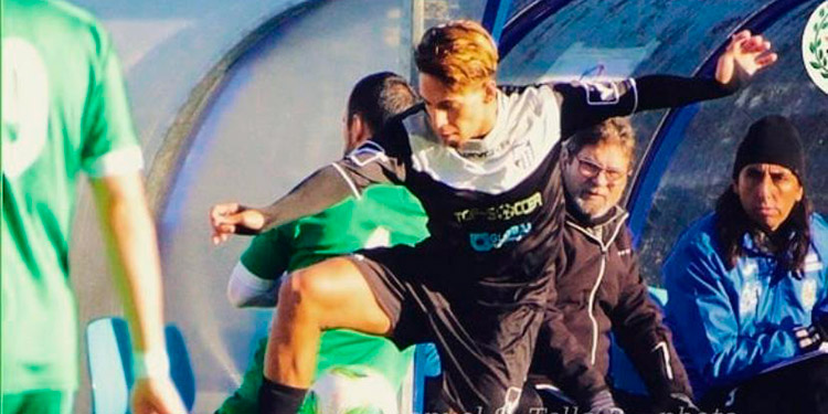 Héctor Reynaldo Martínez juega en Andorra, primera división, a sus 19 años de edad.