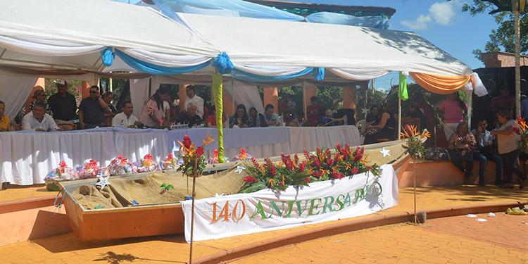 """Bajo el gobierno de Marco Aurelio Soto fue cuando la aldea """"Pueblo Nuevo"""" recibió el título de municipio y su nombre Marcovia."""