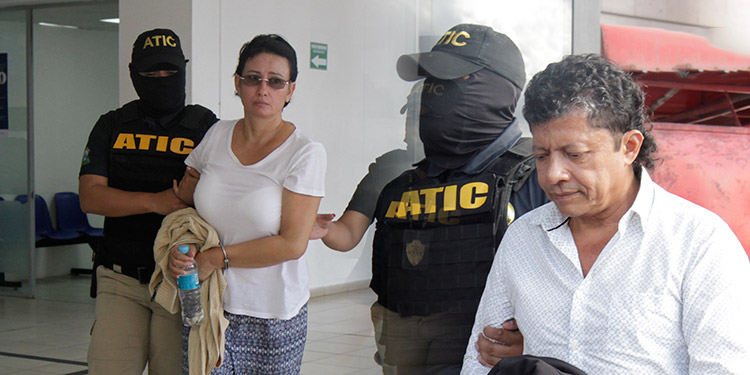 La UF-ADPOL solicitó la privación definitiva de dominio de los bienes de los socios y testaferros del clan Barralaga José Arístides Flores Nájera y su esposa Waldina Lizzette Gavarrete Ortega.