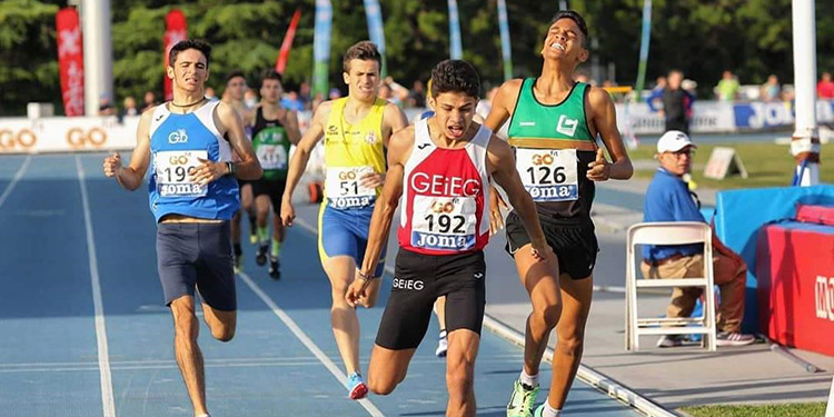 El atleta hondureño Josué Canales escala el tercer lugar del raquin mundial de atletismo para menores de 20 años.
