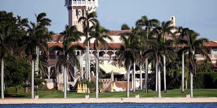 La policía de Palm Beach, la ciudad del sureste de Florida donde está Mar-a-Lago, la residencia del presidente Donald Trump, detuvo a un iraní con un machete.