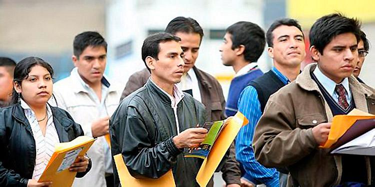 Cada año ingresan 180 mil personas a la Población Económicamente Activa.