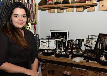 María Echeverri presentó su nueva coleccion de bisutería en Casa Petipuá