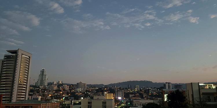 Tegucigalpa amaneció con cielos despejados este lunes.