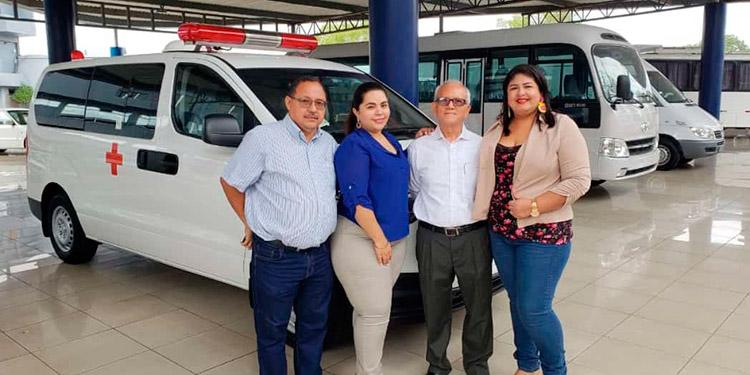 La próxima semana estarían entregando la moderna ambulancia al Hospital General del Sur, por parte del Comité de Apoyo Externo.