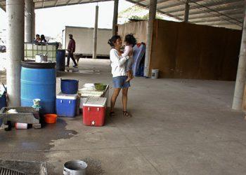 El desalojo a los pobladores de un sector de la colonia Godoy se produjo el 7 de junio del 2018.