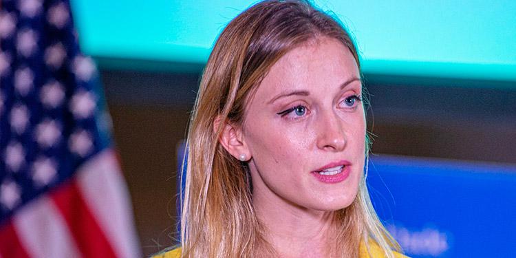 La encargada de Cuba y Venezuela del Departamento de Estado, Carrie Filipetti.