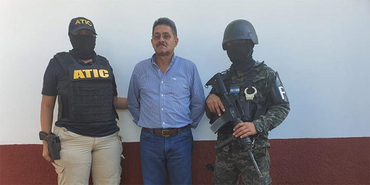 José Carlos Orlando Argueta Martínez, quedó con medidas distintas a la detención judicial, fue presentado ante los juzgados de Gracias, Lempira.