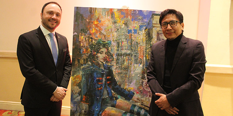 Joel Muchnik y Orlando Roque.